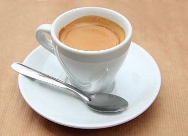 Espresso Shot in Cup