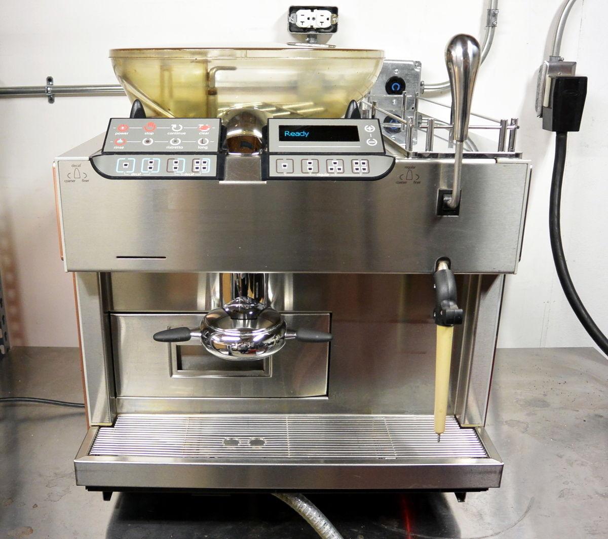 Mastrena semiautomatic espresso machine