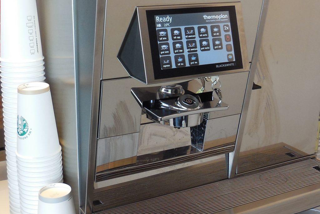Super Automatic Espresso Machine Control Panel