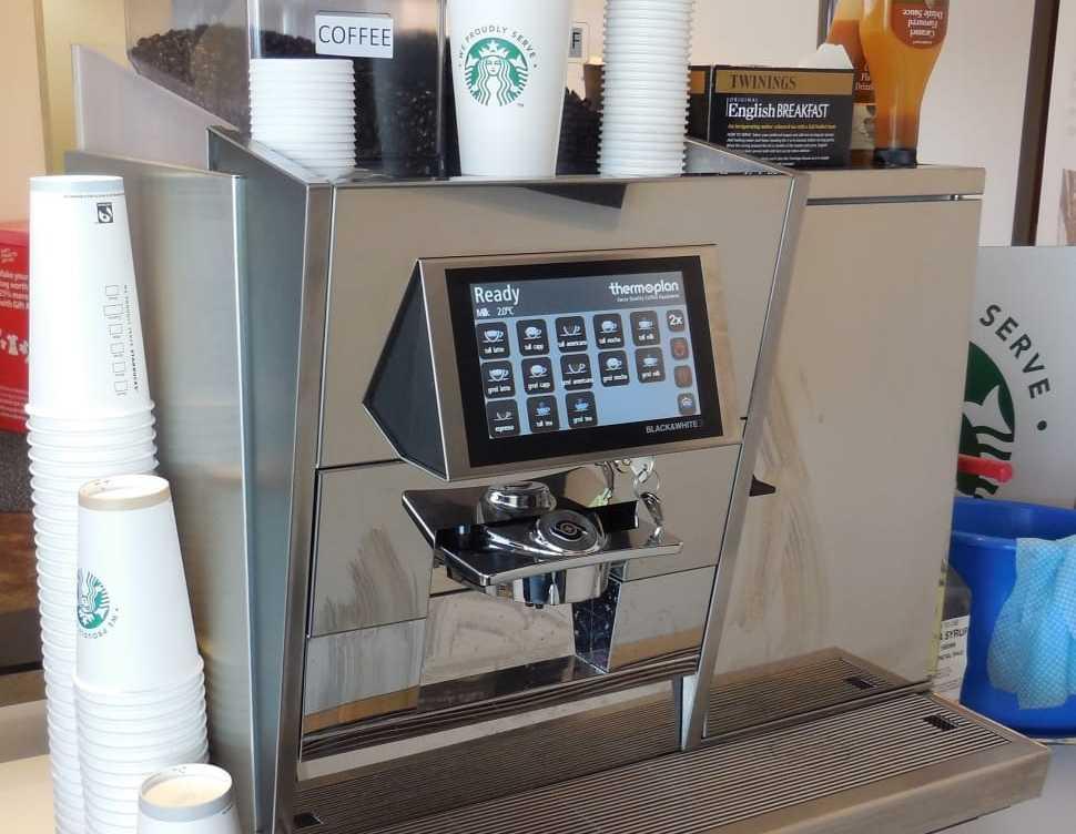 super automatic espresso machine Starbucks